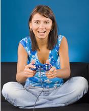 half UK gamers are women