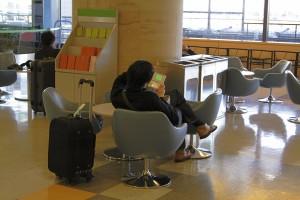 travel lobby