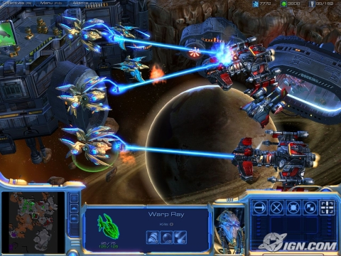 battle protoss and terrans